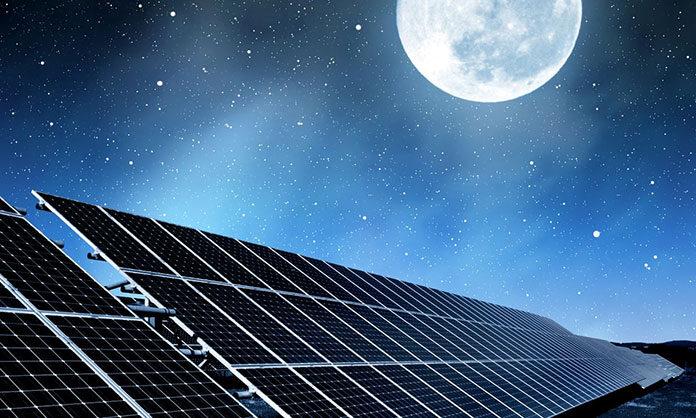 System przetwarzający energię słoneczną na elektryczną
