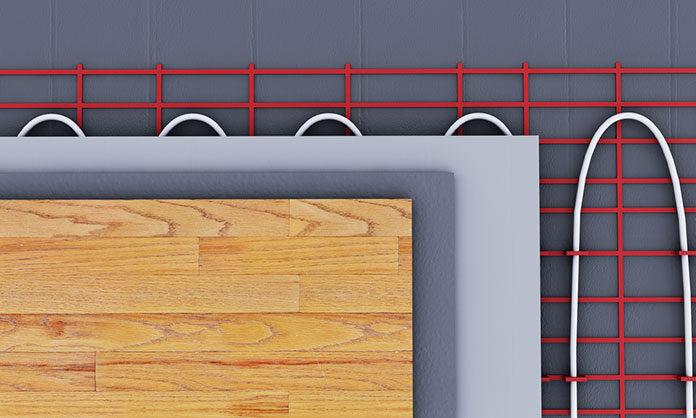 Ogrzewanie podłogowe elektryczne